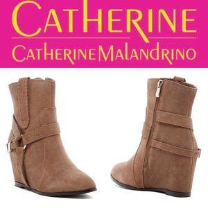 Catherine Catherine Malandrino Annora Wedge Bootie